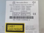 Radio Bedienteil MERCEDES BENZ E-Klasse W212 mit CD 2129069900 002